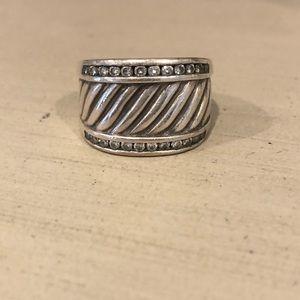 David Yurman Cable Cigar Band Ring
